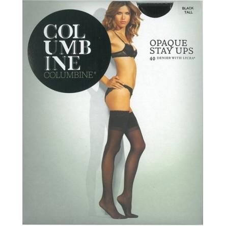Columbine Opaque Stay Ups 40 Denier