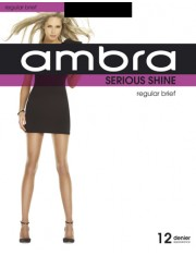Ambra Serious Shine Regular Brief Pantyhose