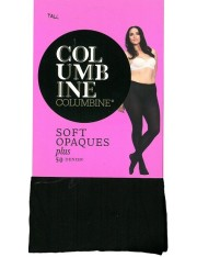 Columbine Plus Size Soft Opaque Tights 50 Denier