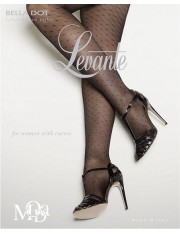 Levante Bella Dot Pattern Plus Size Tights
