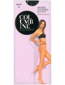 Columbine Plus Size Panel Gusset Tights