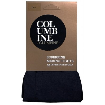Columbine Superfine Merino Wool Tights with Lycra 70 Denier