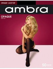 Ambra Opaque Stay Ups