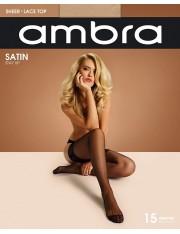Ambra Satin Stay Ups