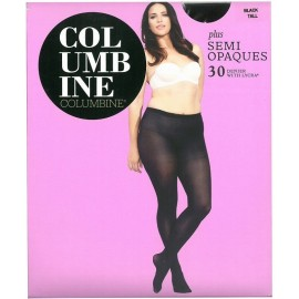 Columbine Plus Semi-Opaque Tights 30 Denier