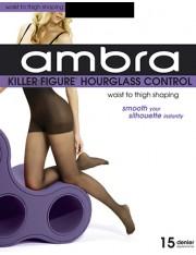 Ambra Killer Figure Hourglass Control Pantyhose