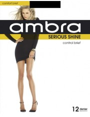Ambra Serious Shine Control Brief Pantyhose