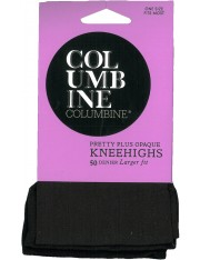 Columbine Pretty Plus Opaque Knee Highs 50 Denier